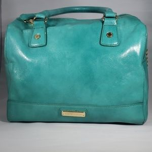 Steve Madden teal satchel, crossbody